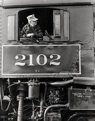 Scan (Ivan S. Abrams) Tags: blackandwhite newcastle pittsburgh butler bo ge prr ble conrail alco milw emd ple 2102 chessiesystem westmorelandcounty 4070 bessemerandlakeerie steamtours pittsburghandlakeerie ivansabrams eidenau steamlocomtives ustrainsfromthe1960sand1970s