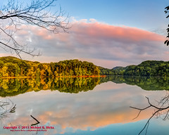 Radnor Lake Golden Hour (HDR/Panorama) - August 15, 2013 (mikerhicks) Tags: sunset summer panorama landscape geotagged unitedstates nashville hiking tennessee hdr ptgui radnorlake photomatix tennesseestateparks radnorlakestatepark canon7d nashvillehikingmeetup radnorlakestatenaturalarea oakhillestates sigma18250mmf3563dcmacrooshsm geo:lat=3606257195 geo:lon=8680347974