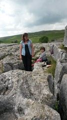 20130822_133009 (ps.cole) Tags: cliff landscape climbing catherine limestone abigail geology nationaltrust footpath malham yorkshiredales malhamcove malhamtarn