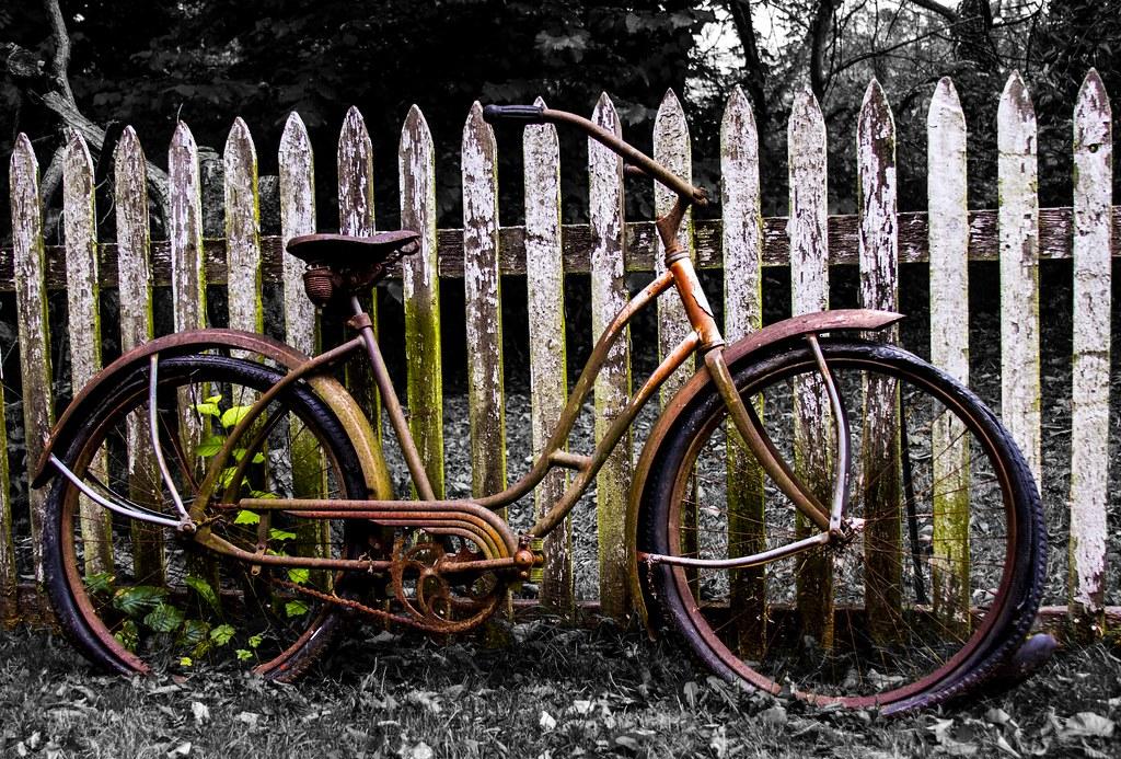 rusty bike beautiful lomo - photo #22