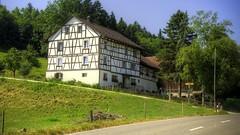 Riegelhaus (ponte1112) Tags: geotagged schweiz switzerland nikon haus che hdr fachwerk tonemapped kantonthurgau stpelagiberg capturenx2 d5100 ponte1112 photomatix4 lightroom5 nikkorvr18200mmg geo:lat=4749693652 geo:lon=931791793