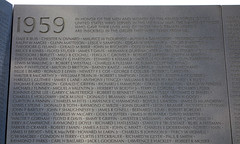 Maya Lin, Vietnam Veterans Memorial, detail with first names