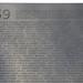 Maya Lin, Vietnam Veterans Memorial, detail with first names