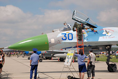 "Sukhoi Su-27 (6) • <a style=""font-size:0.8em;"" href=""http://www.flickr.com/photos/81723459@N04/9962605234/"" target=""_blank"">View on Flickr</a>"