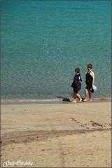De dos.../Dual (Guijo Crdoba fotografa) Tags: sea espaa mar seaside spain sand mediterraneo playa nikond70s arena menorca baleares guijocordoba arenaldencastells