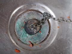 a plug for restoraton (Hathersage Victorian Baths) WWPW2013 (rytuneCnut) Tags: manchester sink victorian baths plug restoration hathersage catchycoloursgreen wwpw2013