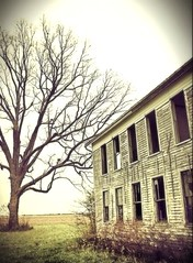 When the harvest is done, what then? (Ronald (Ron) Douglas Frazier) Tags: building abandoned farmhouse rural square ruins midwest moody tales country nowhere shed structure haunted chilling forgotten haunting homestead prairie tumbledown instagramapp