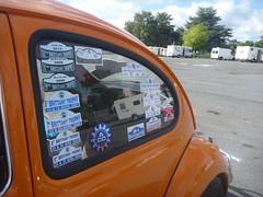 French Rally Chateau Gontier (green gennii) Tags: auto orange france classic vw de la beetle ronde 8eme mayenneaco