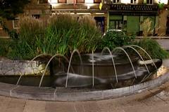Yoann Gino C.  (Ychiaffredo) Tags: pose eau fontaine nuit lisse aspect longue