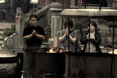 prayer (BigZoic) Tags: china apple different think chinese gap hobo chine shangai rpc