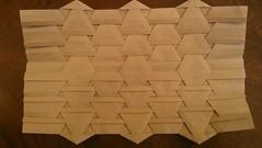 ... variation 2 (Tom Crain Origami) Tags: origami tessellations origamitessellations