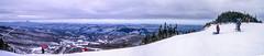 Killington from Pico (Bill M9) Tags: trees panorama usa snow america vermont skiing pico killington digimax v4