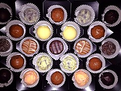 #finest #handmade #truffles (RenateEurope) Tags: handmade tasty delicious bonbon finest truffles pralines confiserie iphoneography uploaded:by=flickrmobile flickriosapp:filter=nofilter ios7 trüffelspezialitäten