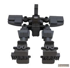 The Hammer (Transforming Vic Viper) (Bricknave) Tags: lego walker mech vicviper novvember bricknave