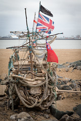 The Black Pearl-8227 (johnrobjones) Tags: black art ship driftwood pirate pearl wirral newbrighton