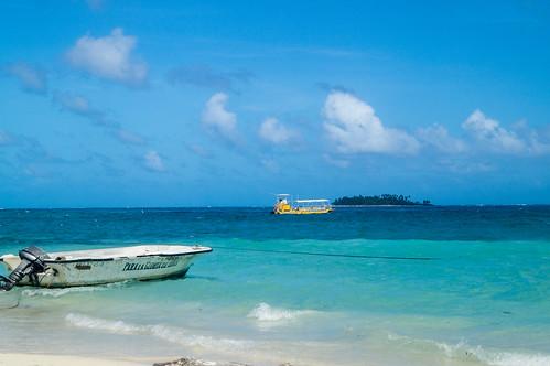 Playa central San Andrés