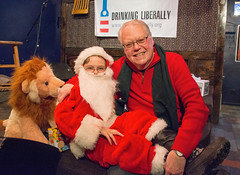 Steve and Santa at 2013 MSP DL