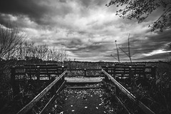 View and Clouds (NickNickNickHowlett) Tags: sky white black grass contrast zeiss canon t eos angle wide carl benches 35 ultra matte 18mm 6d distagon 3518