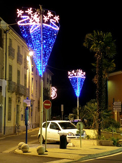 Montagnac (34), illuminations 2010