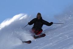 JM Benoit freeskiing the Brevent Slopes @chamonix (blaisecham) Tags: ski 7d chamonix chamonixski freeskiing skiwithapro blaisecham blaiseverienchamonix
