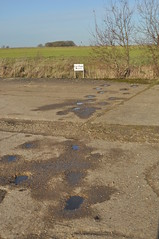 RAF Deenethorpe, Footprints (SteveSmith83) Tags: abandoned b17 northants raf airfield 8thaf deenethorpe
