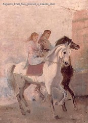 Eugenio Prati Due giovani a cavallo Mart