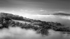 Lost Worlds (Russ Barnes Photography) Tags: trees winter mist fog forest woodland landscape nikon cotswolds infrared d7000 665nm russbarnes nikkor70200mmvrii