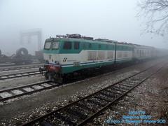 E656-576 (Simone Menegari) Tags: train traction cargo mantova stazione treno fs lavoro ferrovia locomotiva e656 rfi caimano locomotore