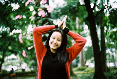 Ayu Asrini 1 (ramdika.n) Tags: portrait 35mm persona kodak analogue yashica gold200 fx3