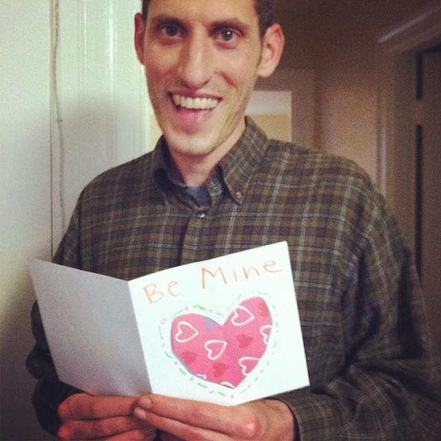 Be Mine (srsldy) Tags: Matt Valentine Card Valentinesday Bemine