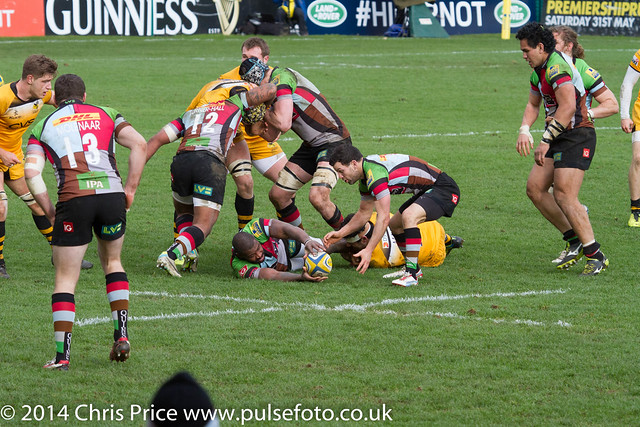 Quins 11 Wasps 10 Aviva Premiership 9th February 2014