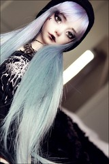 Out of the blue...into the black. (Elektro_cute) Tags: black metal pastel goth luv bjd abjd darkthrone zaoll