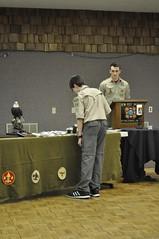 COH Feb 2014  012 (Howard TJ) Tags: camping boy court honor coh scouts merit uniforms awards badges troop scouting bsa 826
