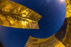 Golden Fisheye (Ahmed Sajjad Zaidi) Tags: fisheye shakarparian goldenfisheye islamabadmonument starandcrescentmonument shakarparianhills