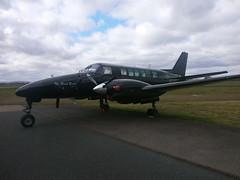 N899DZ Beech King Air 99 (Aircaft @ Gloucestershire Airport By James) Tags: james airport king air gloucestershire 99 beech lloyds egbj n899dz