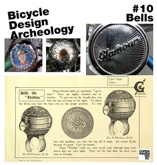 Bicycle Design Archeology Series (Mikael Colville-Andersen) Tags: detail history bike bicycle vintage design accessories accessory cyclechic copenhagenize