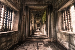 The Hallways of Angkor Wat