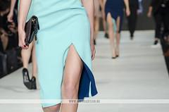 VAMFF 2014 - Runway 6 - Yeojin Bae (Naomi Rahim (thanks for 2 million hits)) Tags: blue fashion instyle magazine nikon models australia melbourne skirt split runway lining 70200mm 2014 yeojinbae vamff