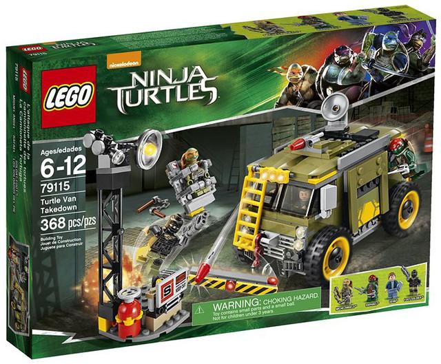【販售資訊公開】LEGO 電影版《忍者龜:變種世代》!