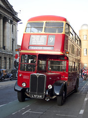 AEC Regent RTIII LYF316 (mark_fr) Tags: city girls night 1931 out hall hp royal norton ritz hull regent humber bsa guildhall lagonda vn 2025 aec 7153 a rt8 rt3 rtiii lyf316 fxt183 fkt753