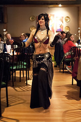 Anya Zofia at the Med Hookah - 04 26 14 (Drumdude Bill) Tags: beautiful bellydance madisonwisconsin nikond700 nikkor50mmf14g mediterraneanhookahloungeandcafe doumtekphotography anyazofia
