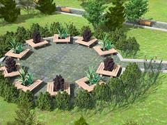 Public. Gardener area