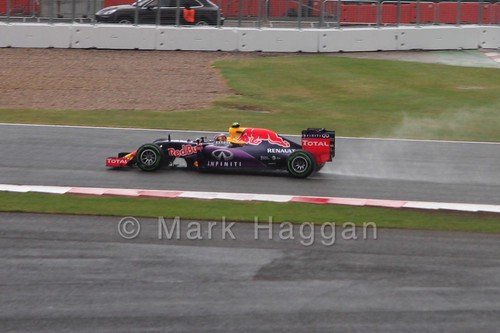 Daniil Kvyat in the 2015 British Grand Prix at Silverstone