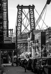 Williamsburg Bridge 2 (Marco Monteiro imagery) Tags: nyc blackandwhite brooklyn streetphotography williamsburg williamsburgbridge iloveny ilovenewyork newyorkbridges nyarchitecture bridgesofnewyork eastrivernewyork newyorkclassicals