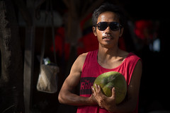 You wanna buy coconut huh ?? (adamharris1982) Tags: travel portrait people bali food travelling indonesia prime amazing minolta coconut sony culture streetphotography wanderlust beercan local tradition fullframe gili streetfood travelphotography giliislands sonyalpha minoltabeercan sonyalphaa850