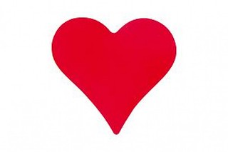 free red rose heart image