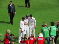 England's Ashes Victory (Mike.Dales) Tags: nottingham england australia victory cricket ashes trentbridge joeroot adamlyth yorkshirecc canonpowershotsx150 jonnybairstow