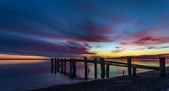 The Sky of Many Colours (hey its k) Tags: fiftypointconservationarea groynes lakeontario sky sunrise img2444e canon6d