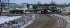 Sweet Pete (jr-transport) Tags: peterbilt logging mill paper logs custom green minnesota internationalfalls 388 389