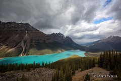 Peyto Lake (Rolandito.) Tags: canada kanada peyto lake banff alberta mountain view rainbow landscape